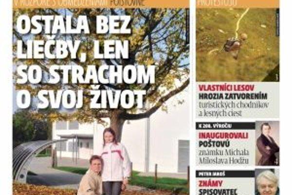 Nové vydanie týždenníka MY Liptovské noviny je už v predaji.