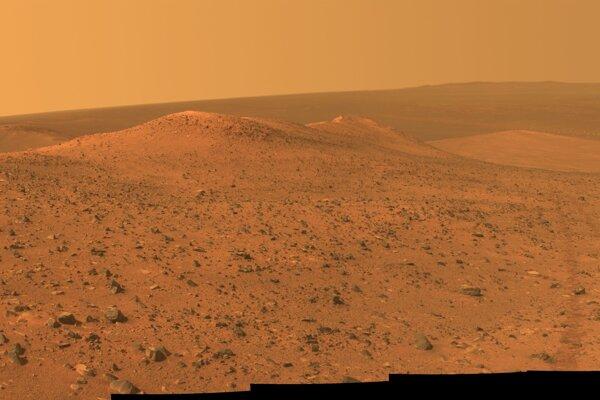 Hrebeň Wdowiak na Marse.