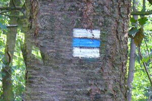 Trasy vyznačené modrou značkou sú v Tatrách najdlhšie.