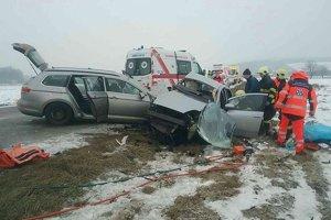 Sobotňajšia vážna dopravná nehoda.