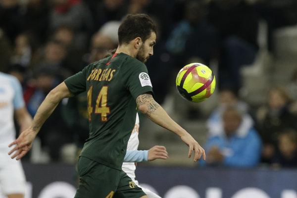 Cesc Fabregas z AS Monako.