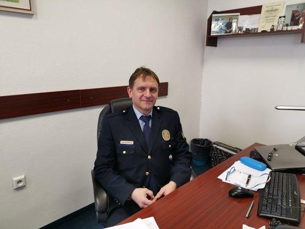 Marián Gardoš, náčelník MsP. Aj kuriózne prípady riešia mestskí policajti.