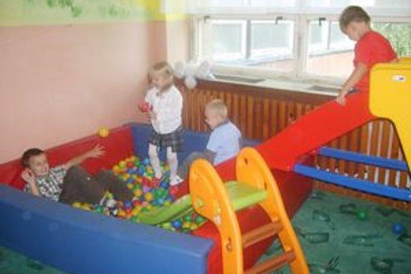 Deti sa v materskom centre cítia vždy výborne.