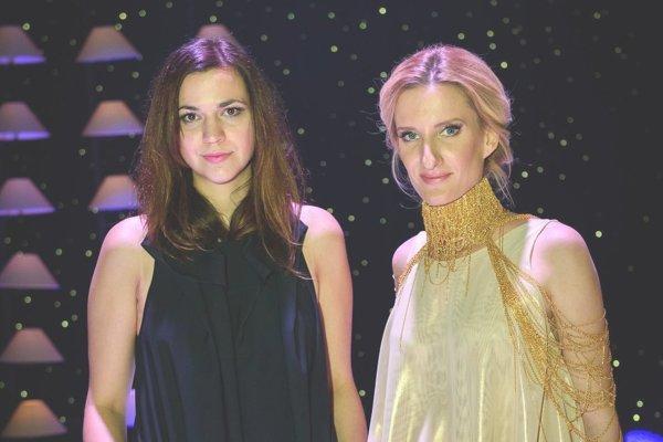 Andrea Pojezdálová (vľavo) ušila šaty aj pred Adelu Vinczeovú.