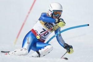 Tereza Jančová počas MS valpskom lyžovaní vSt. Moritzi vroku 2017.