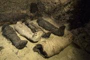 V Egypte objavili múmie pravdepodobne z čias dynastie Ptolemaiovcov.