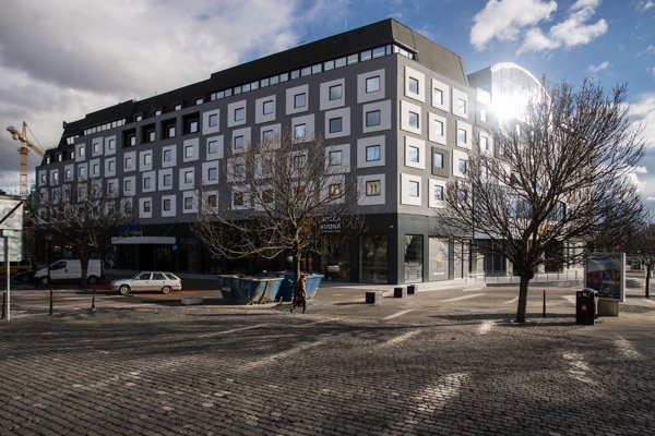 Zrekonštruovany hotel Park Inn by Radisson Danube.