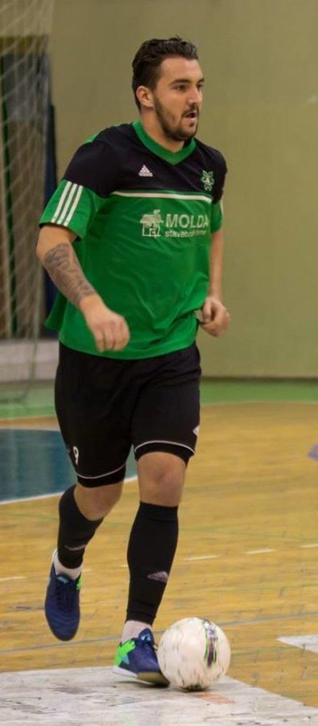 Hrajúci tréner futsalistov MŠK Nové Zámky Adam Bombicz