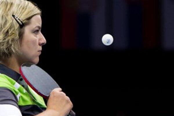 Stolná tenistka si splnila sen. Z paralympiády si opäť doniesla medailu.