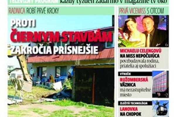 V novom vydaní MY Liptovské noviny nájdete spravodajstvo a publicistiku z regiónu, ktorý vám je najbližšie.