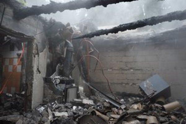 Požiar zničí domov v priebehu pár minút na ruiny.