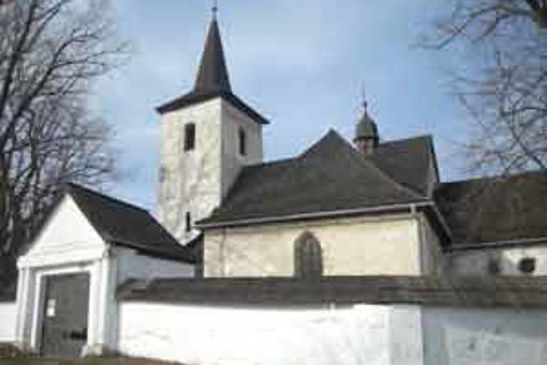 Kostol v Ludrovej.