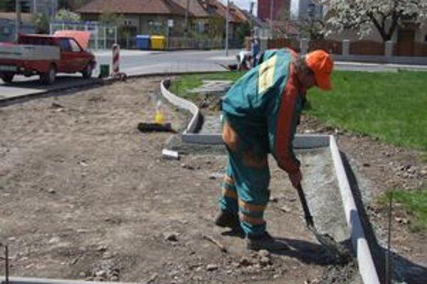 Stavebné práce by mali byť hotové do konca tohto mesiaca.