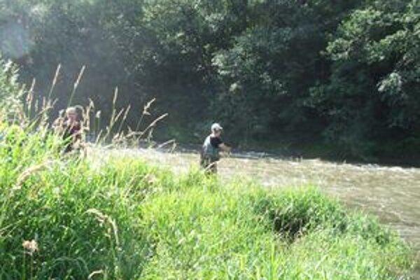 Mladí rybári súťažili na Váhu (na fotografii) a Belej v Liptovskom Hrádku.