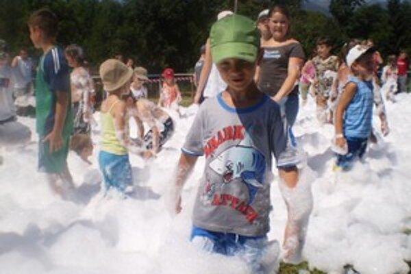 Liptovskoondrejský Deň D priniesol veľa zábavy aj deťom.
