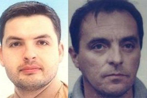 Polícia pátra po dvoch Ružomberčanoch: Mariánovi Krchovi (vľavo) a Petrovi Jančim.