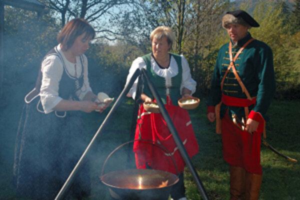 Kuruci v Kvačanoch nielen strieľali, ale aj varili.