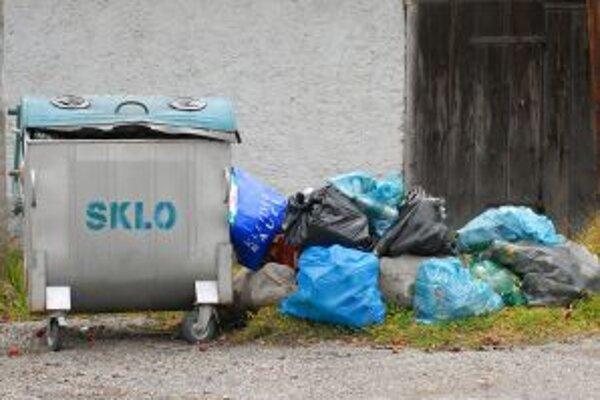 Keby bola väčšina odpadu vytriedená, zasiahnutá plocha skládky by sa zmenšila približne o tretinu.