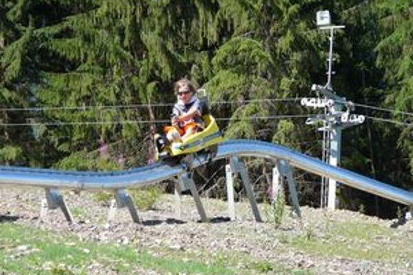 Zažite na Medzinárodný deň detí krásny deň na bobovej dráhe.
