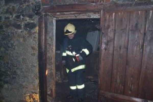 S požiarom dvoch humien hasiči bojovali viac ako dve hodiny.