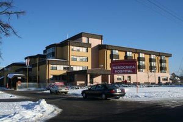 Liptovská nemocnica s poliklinikou v Liptovskom Mikuláši.