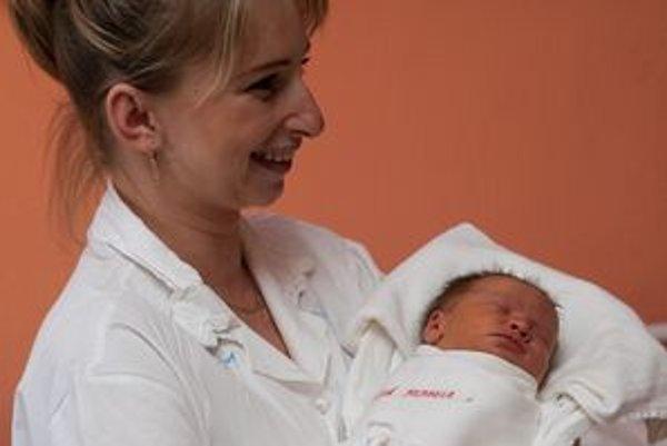 Prvá Liptovskomikulášanka, ktorá sa narodila v tomto roku, Michaela Veselá s mamičkou.