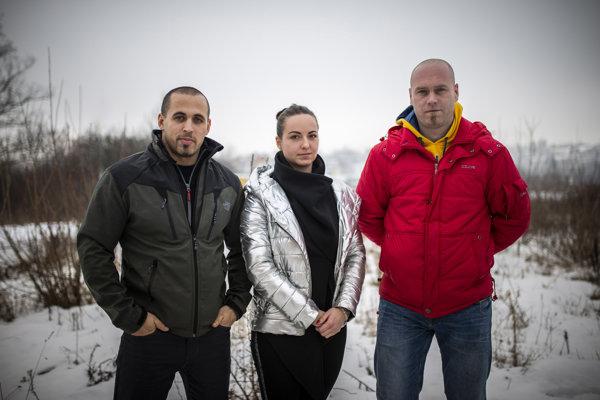 Ervín Velič, Nina Kováčiková a Miroslav Grekčo, ktorí sa rozhodli hovoriť o pomeroch v policajnom zbore.