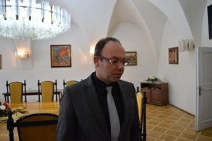 Jozef Guliga zo sekretariátu primátora mesta Bardejov.
