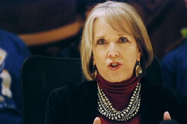 Guvernérka amerického štátu Nové Mexiko Michelle Lujanová Grishamová.