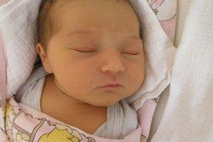 Mia Fileková (3850 g a 52 cm) sa narodila 9. januára Daniele z Považskej Bystrice.