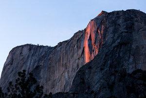 Návštevníci môžu optickú ilúziu sledovať len desať minút vo vybrané februárové dni.