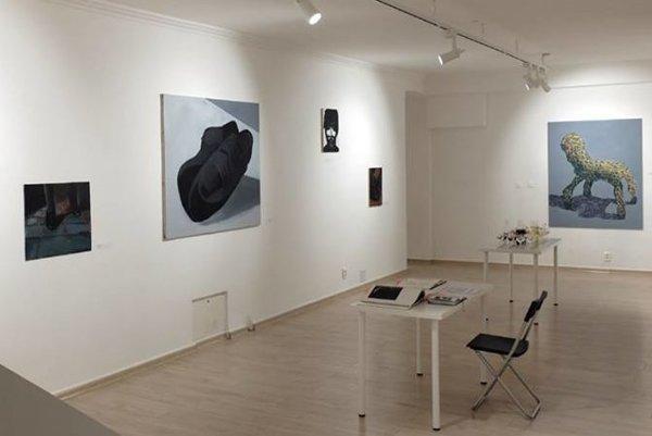 Výstava Eriky Miklóšovej v galérii DOT v Bratislave.