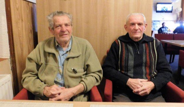 Milan Tittel (vľavo) a jeho brat Marián Tittel (vpravo).