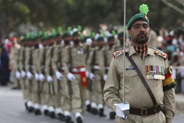 Pakistanskí vojaci.