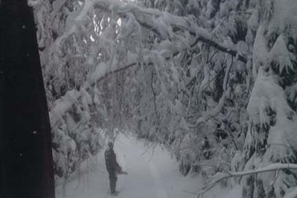 Počas mimoriadnej situácie, ktorá trvala od 9. do 18. januára,  mali problémy s veľkým množstvom snehu aj v Klokočove.