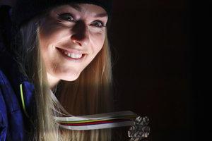 Na majstrovstvách sveta v alpskom lyžovaní vo švédskom Are získala bronz.