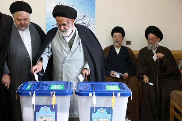 Voľby v Iráne.