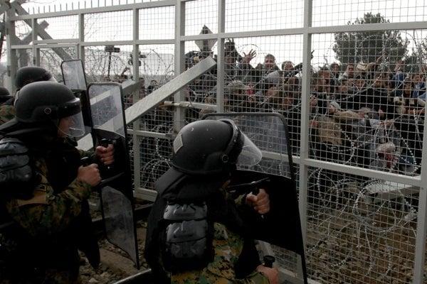 Utečenci verzus macedónska hranica