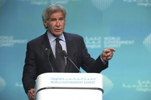 Americký herec Harrison Ford sa v Dubaji postavil na stranu prírody.