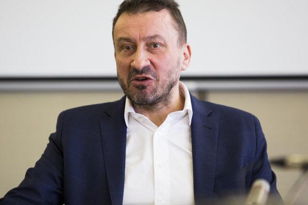 Opätovne zvolený predseda Rady Rozhlasu a televízie Slovenska (RTVS) Igor Gallo.