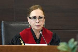 Bývalá predsedníčka Ústavného súdu Ivetta Macejková.