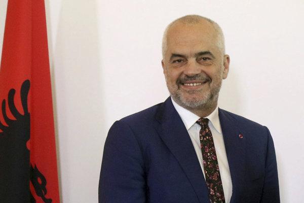 Albánsky premiér Edi Rama.