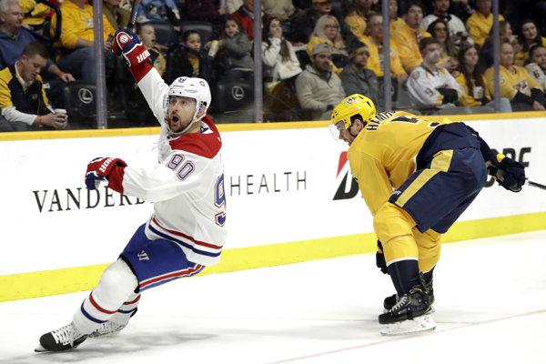 Tomáš Tatar (vľavo) v drese Montreal Canadiens.