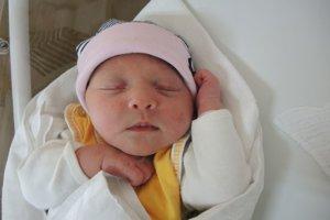 Juliana Pevalová (3230 g, 48 cm) sa narodila 31. januára Michaele a Jurajovi z Kálnice.