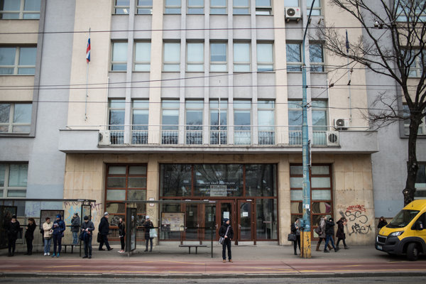Daňový úrad v Bratislave (ilustračné foto).