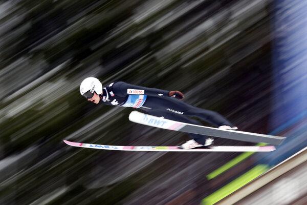 Poľský skokan na lyžiach Piotr Zyla - ilustračná fotografia.