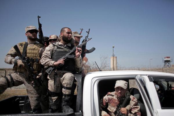 Armáda na Sinaji.