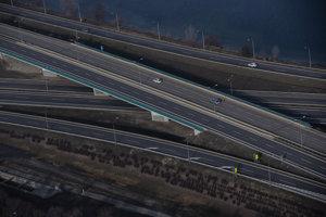 Dopravná situácia - Cesta na Senec