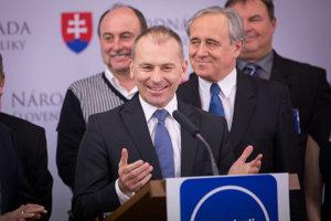 Predseda strany Demokrati Slovenska - Ľudo Kaník Ľudovít Kaník.