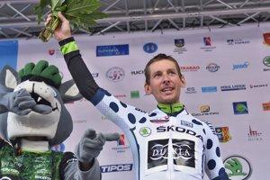 Martin Haring počas vlaňajších pretekov Okolo Slovenska.